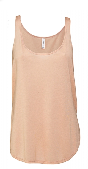 Tank Top für Damen, Flowy Side Slit Tank