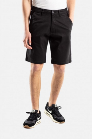 Flex Grip Chino Shorts, Baumwolle, Dark Sand & black