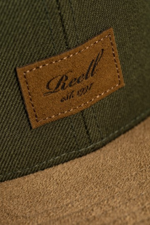 Reell 6-Panel suede Cap