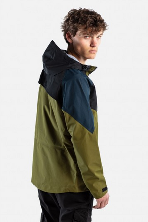 Modular Tech Jacket, Olive / Black / Navy