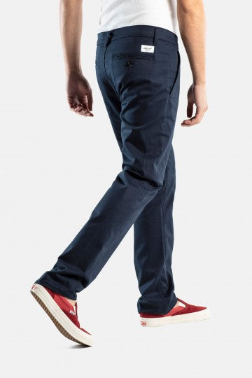 Straight Flex Chino, gerader Schnitt, PC navy