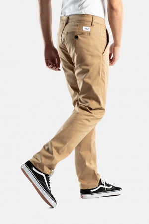 Straight Flex Chino, gerader Schnitt, darksand
