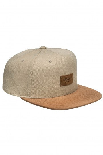 Reell Suede 6-Panel Cap, Farbe: sand
