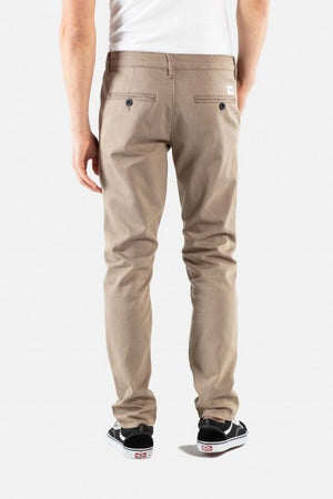 Superior Flex Chinohose tapered fit sand & dark blue