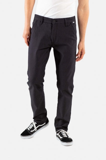 Superior Flex Chinohose tapered fit Black
