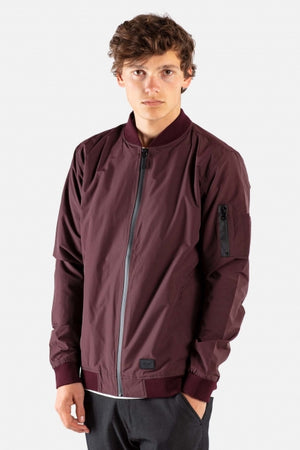 Technical Flight Jacket, Herren Übergangsjacke, Cardinal Red