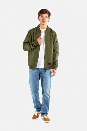 Technical Flight Jacket, Herren Übergangsjacke, olive