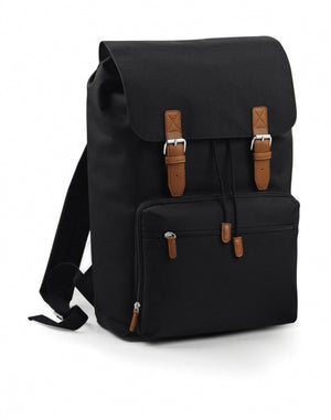 Vintage Canvas Laptop Backpack (mit Laptopfach)