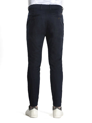 Chris, Chinojoggerhose, navy
