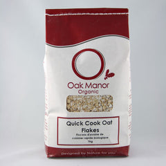 Organic Quick Cook Oat Flakes