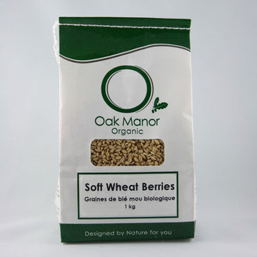 Organic Soft Wheat Berries