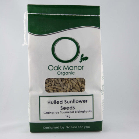 Organic Hulled Sunflower Seeds