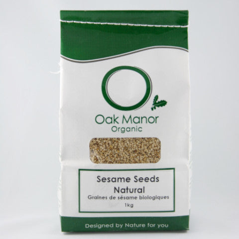 Organic Sesame Seeds, Natural (brown)