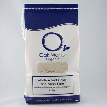 Organic Whole Wheat Cake and Pastry Flour