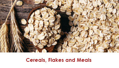 Cereals, Flakes, Meals