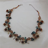 Fashion Pearls - Brown or Gold and White Baroque (2 Colors to choose)
