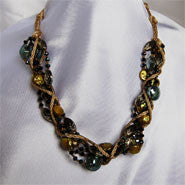 Fashion Pearls - Braided Coin Pearls (2 Colors to choose)