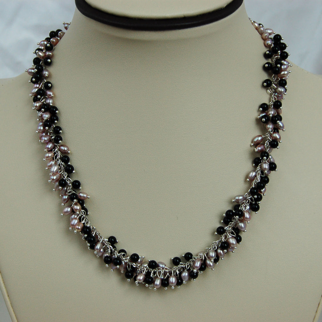 3 mm Fashion Pearl Necklace (5 Colors to choose)