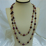 "50"" Baroque Fashion Pearl Necklace (6 Colors to choose)"