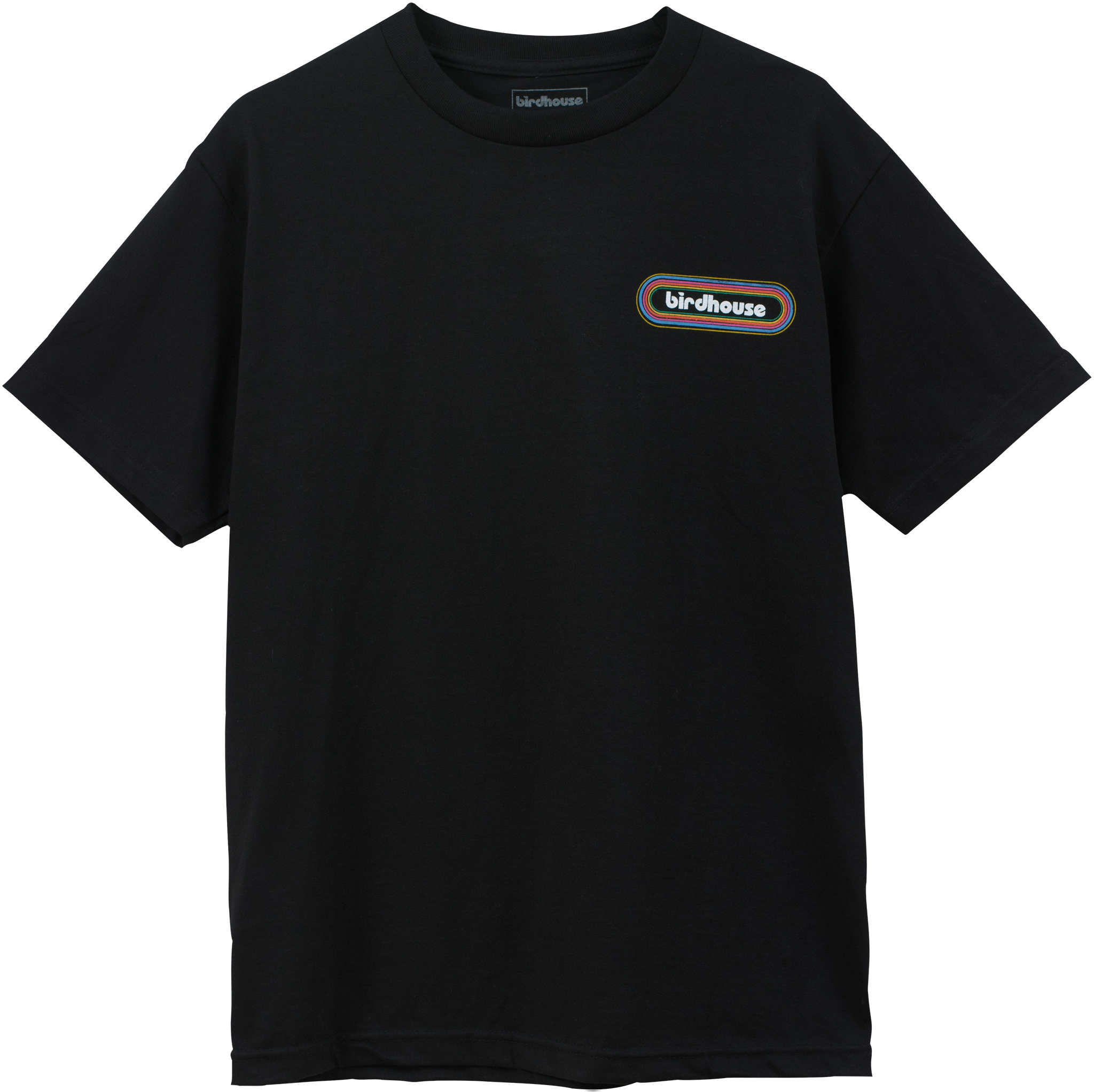 Favorite BIRDHOUSE - SHIRTS - 3D LOGO TEE - BLACK - BIRDHOUSE SKATEBOARDS LI49