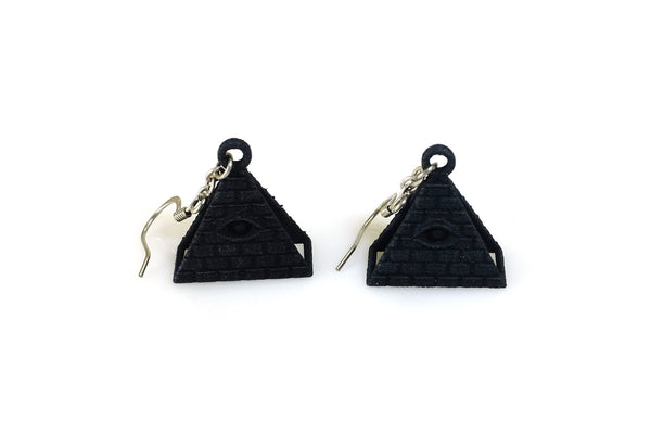 All-Seeing Eye Earrings - Free For Mind - 4