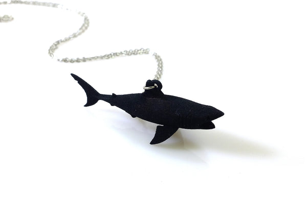 Great White Shark Necklace - Free For Mind - 2