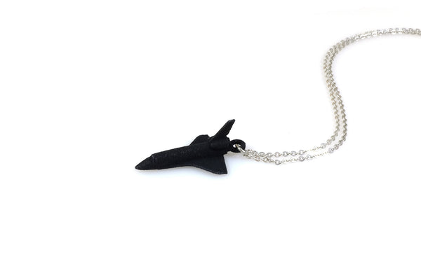 Space Shuttle Necklace - Free For Mind - 2