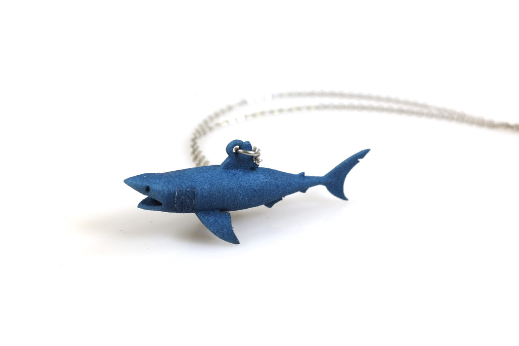 Great White Shark Necklace - Free For Mind - 1