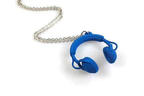 Headphones Necklace - Free For Mind