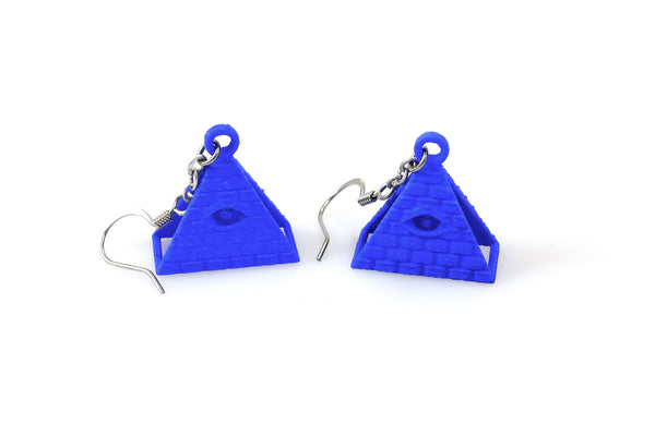 All-Seeing Eye Earrings - Free For Mind - 2