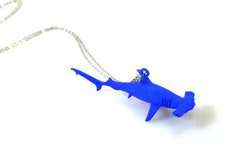 Hammerhead Shark Necklace - Free For Mind - 1