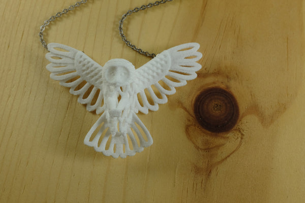 Owl Necklace - Free For Mind - 2