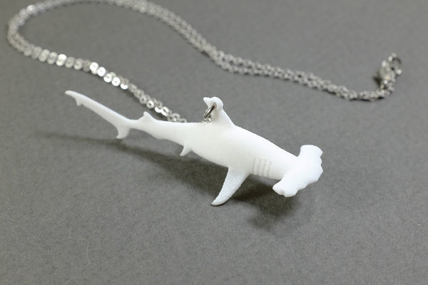 Hammerhead Shark Necklace - Free For Mind - 2
