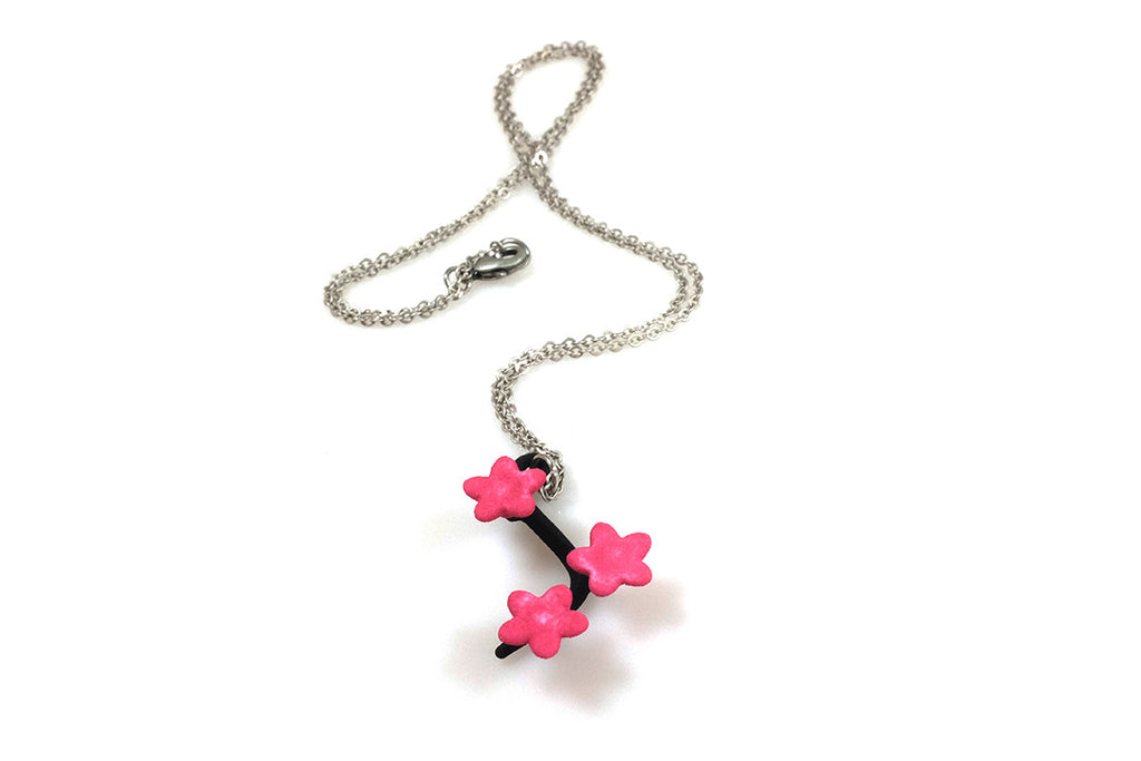 Cherry Blossom Necklace (Small) - Free For Mind