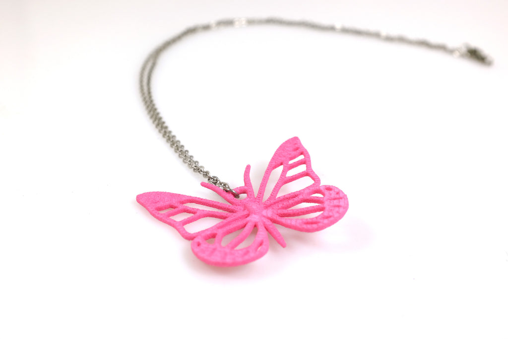 Monarch Butterfly Necklace - Free For Mind