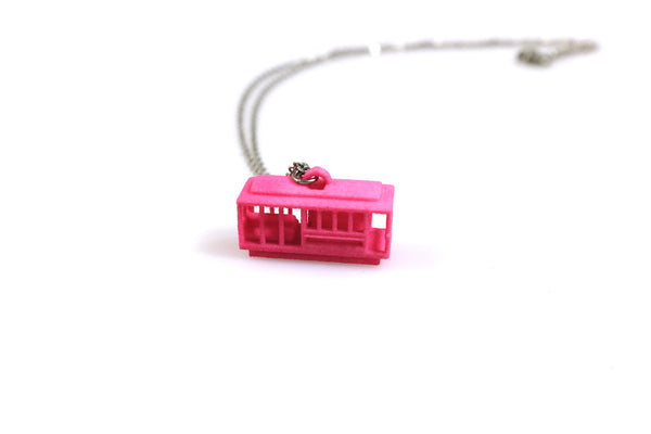 Cable Car Necklace - Free For Mind - 2
