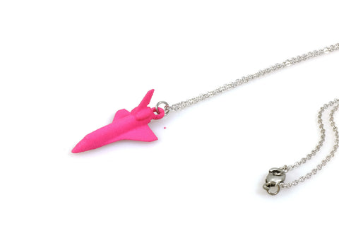 Space Shuttle Necklace - Free For Mind - 1