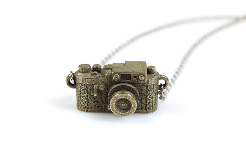 SLR Camera Necklace - Steel - Free For Mind