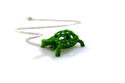 Box Turtle Necklace - Free For Mind