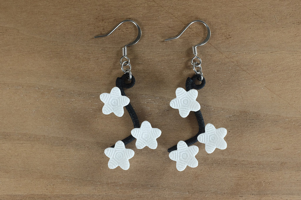 Cherry Blossom Earrings - Free For Mind