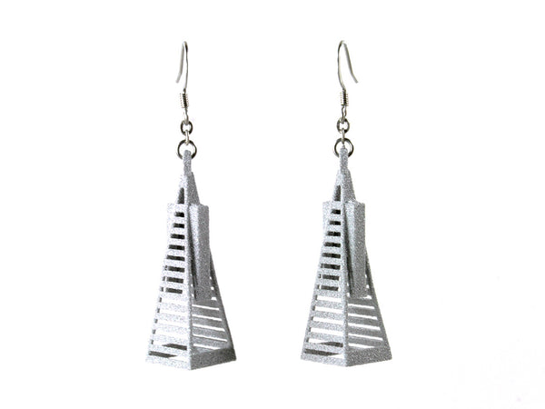 Transamerica Pyramid Earrings - Free For Mind - 6