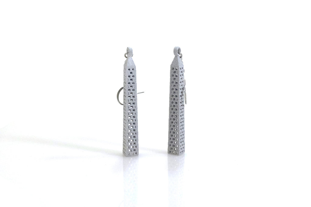 Washington Monument Earrings - Free For Mind