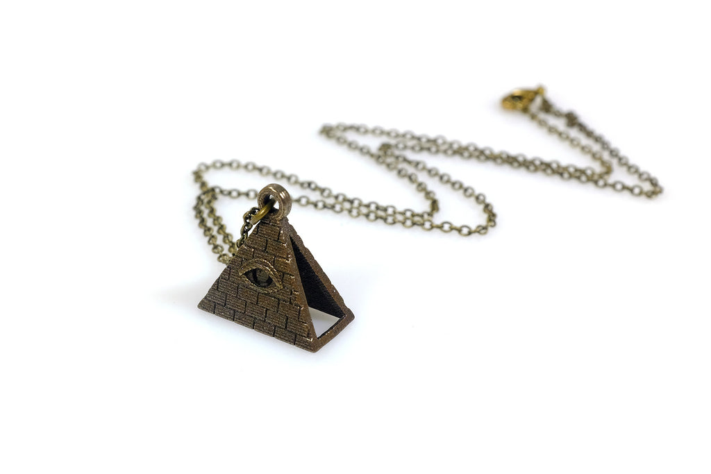 All seeing eye necklace steel free for mind all seeing eye necklace steel free for mind 3 mozeypictures Images