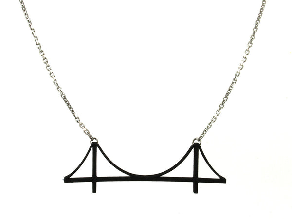 Golden Gate Bridge Necklace - Free For Mind - 6