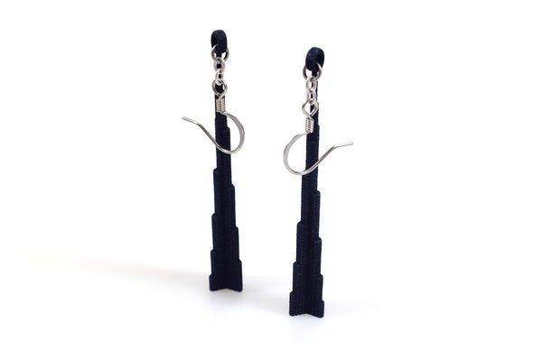 Burj Dubai Earrings - Free For Mind - 2