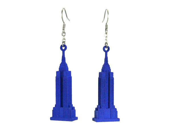 Empire State Earrings - Free For Mind - 3