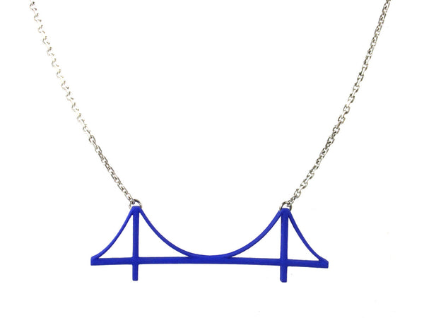 Golden Gate Bridge Necklace - Free For Mind - 10