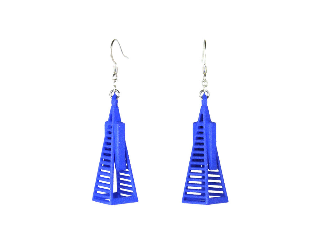Transamerica Pyramid Earrings - Free For Mind - 1