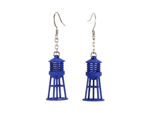 Water Tower Earrings - Free For Mind - 2