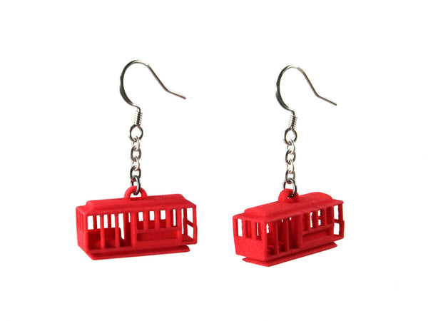 Cable Car Earrings - Free For Mind - 3